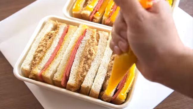 อาหารเช้าดีต่อสุขภาพ-แซนวิช –